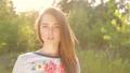 field, sunset, girls 32074958