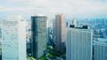 新宿高層ビル群 東京タイムラプス ゆるやかな空 パン グレーディング 32113229