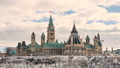 Ottawa,Canada-Timelapse - The Parliament of Canada 32277239