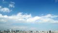 东京时间间隔经典风景宽塔东京塔和市中心全视图天空拷贝空间初夏FIX 32348929