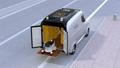 自動運転宅配車、配達ドローンとロボット。ラスト1マイル配達のコンセプト 32373570