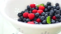 Fresh Washed Berries in Colander, Rotate  32592052