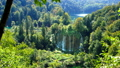 Picturesque waterfalls scenery in Plitvice Lakes 32592362