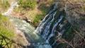川 景色 白ひげの滝の動画 32623277