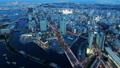 横浜トワイライト 横浜港と元町・中華街 タイムラプス ズームイン 32645713
