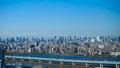 富士山和东京铁塔东京timelapse都市冬天FIX都市风景全景 32672818