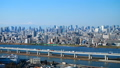 富士山和东京铁塔东京Timelapse街市都市风景冬天放大 32672825