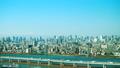 富士山和东京铁塔东京Timelapse街市都市风景全景冬天分级 32672827