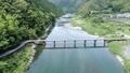 浅尾沈下橋 仁淀川 川の動画 32682451