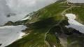 白馬岳 夏山 登山 絶景 ドローンで空撮 32860426
