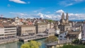 Zurich city skyline timelapse, Switzerland 32908645