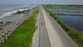 空拍 台湾 台南 国圣灯塔 七股大沙漠 单车跟拍 Tainan Aerial Drone 32960697