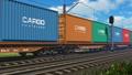 货运 火车 容器 33031906