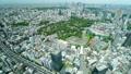 東京タイムラプス 六本木から 俯瞰で望む都心ワイド全景 新宿 池袋 渋谷 青山 パン 33071276