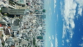 タテ素材 東京定番風景 タイムラプス 8月 夏空 渋谷 33076561