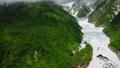 Mt. Hakuba superb view snowfall aerial view 33096310