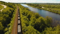 Freight train on the railway 33101289