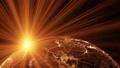 地球 パーティクル 宇宙の動画 33110224