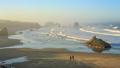 オレゴン 浜辺 海岸の動画 33160625