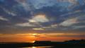 夕焼けの海  perming4k170712-HD1080ProRes422 映像素材 33171056