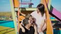 Family, playground, children 33223467