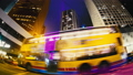 The Evening Streets of Hong Kong. Time Lapse. 33291365