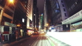 The Evening Streets of Hong Kong. Time Lapse. 33291367