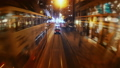 The Evening Streets of Hong Kong. Time Lapse. 33291369