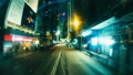 The Evening Streets of Hong Kong. Time Lapse. 33291370