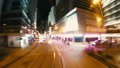 Hyper Lapse. Evening Streets of Hong Kong in a Mot 33291374