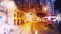 Hyper Lapse. Evening Streets of Hong Kong in a Mot 33291376