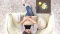 リビング 女性 俯瞰の動画 33471822