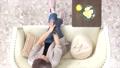 リビング 女性 俯瞰の動画 33471927
