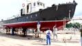 男 ペンキ塗り 造船所の動画 33487652