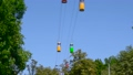 Cable car in the amusement park 33584720