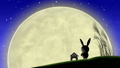 moon, watching, bunny 33777791