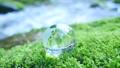 地球儀 ガラス クリスタルの動画 33790814