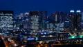 お台場 夜景 街の動画 33813327