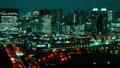 お台場 夜景 街の動画 33813331