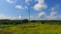 布引高原で風車の回る高原ルートをドライブした走行映像 33835198