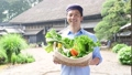 农业中间男性菜农舍慢生活图象 33891855