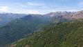 Aerial view on mountains near Como lake Italy 33937356