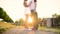 couple, hug, flirting 34223216