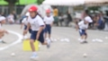 運動会 障害物競走 運動会イメージ 小学生 赤組 白組 秋 イベント 行事 子供 34235742