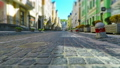 Old town street in retro colors 34348240