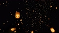 floating asian lanterns in Chiang Mai ,Thailand 34495872