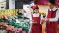 スーパー 店員 スーパーマーケットの動画 34496565