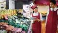 スーパー 店員 スーパーマーケットの動画 34496566