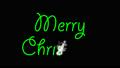 メリークリスマス緑 合成用アルファ素材 34520909