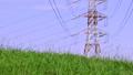 电塔,高压电电塔,草地,电気タワー、高电圧电気タワー、草、Electric tower 34552353